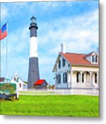 Historic Tybee Island Light Station Metal Print