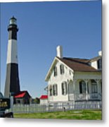 Historic Tybee Island Lighthouse II Metal Print