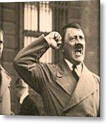 Hitler The Orator Metal Print by Al Bourassa