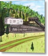 Hocking Valley Mine Metal Print