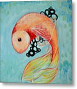Hold The Roe Metal Print