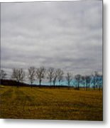 Holding Up The Sky Metal Print