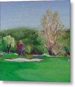 Hole12 Ohlone Ridge Metal Print