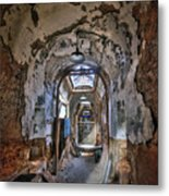 Holes In The Walls Metal Print