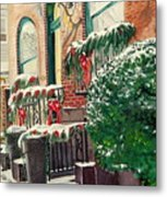 Holiday In The City Metal Print
