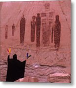 Holy Ghost Petroglyph Into The Mystic Metal Print