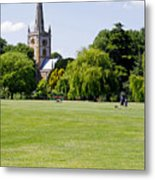 Holy Trinity Church At Stratford Upon Avon Metal Print
