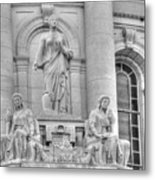 Homage To Wisconsin State Workers--abundance And Prosperity Metal Print
