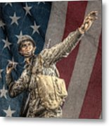 Home Of The Free Land Of The Brave Metal Print by Randy Steele