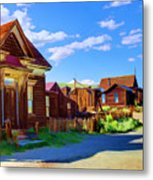 Homes Of The Past Metal Print