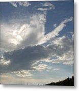 Homestead Sky Metal Print