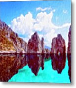 Honah Lee Metal Print