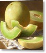Honeydew Melons Metal Print