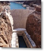 Hoover Dam II Metal Print by Ricky Barnard
