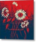 Hope Sunflowers  Metal Print