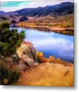 Horsetooth Lake Overlook Metal Print