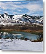 Horsetooth Reservoir Metal Print by Harry Strharsky