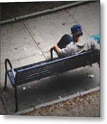 Hot And Homeless Metal Print