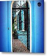 House Door 4 In Charleston Sc  Metal Print by Susanne Van Hulst