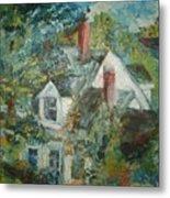House In Gorham Metal Print