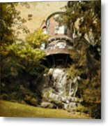 House On A Hill Metal Print