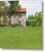 House On Torcello In Venice Metal Print