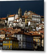 Houses Of The Slope Metal Print