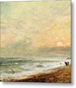 Hove Beach Metal Print by John Constable