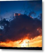 Huge Dusk Cloud Metal Print