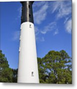 Hunting Island Lighthouse South Carolina Metal Print
