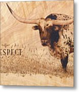 Hunt's Command Respect Metal Print by Jerrywayne Anderson