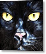 I Am Night Metal Print