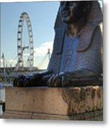 I Sphinx It Is The London Eye Metal Print