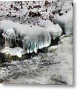 Ice 4 Metal Print
