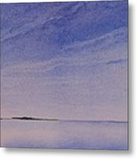 Ice Lake Metal Print
