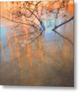 Ice Reflections 2 Metal Print