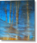 Ice Reflections Metal Print