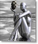 Identity Metal Print by Sandra Bauser Digital Art