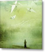 If Wishes Were Wings Metal Print by Silas Toball