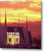 Iglesia Ni Cristo Sunset Cebu City Philippines Metal Print
