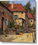 Il Carretto Metal Print by Guido Borelli