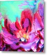 Impressionism Flowers Metal Print