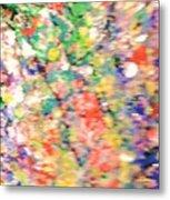 Impressionistic Floral Fantasy  Metal Print
