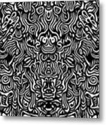 Improvisation I Metal Print