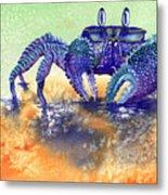 In A Blue Mood Metal Print