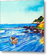 In Paradise Of Dogs Metal Print