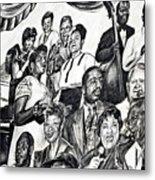 In Praise Of Jazz IIi Metal Print