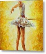 In The Ballet Class Metal Print