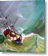 In The Eye Of The Storm Metal Print