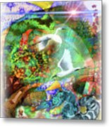 In The Magnificence Metal Print